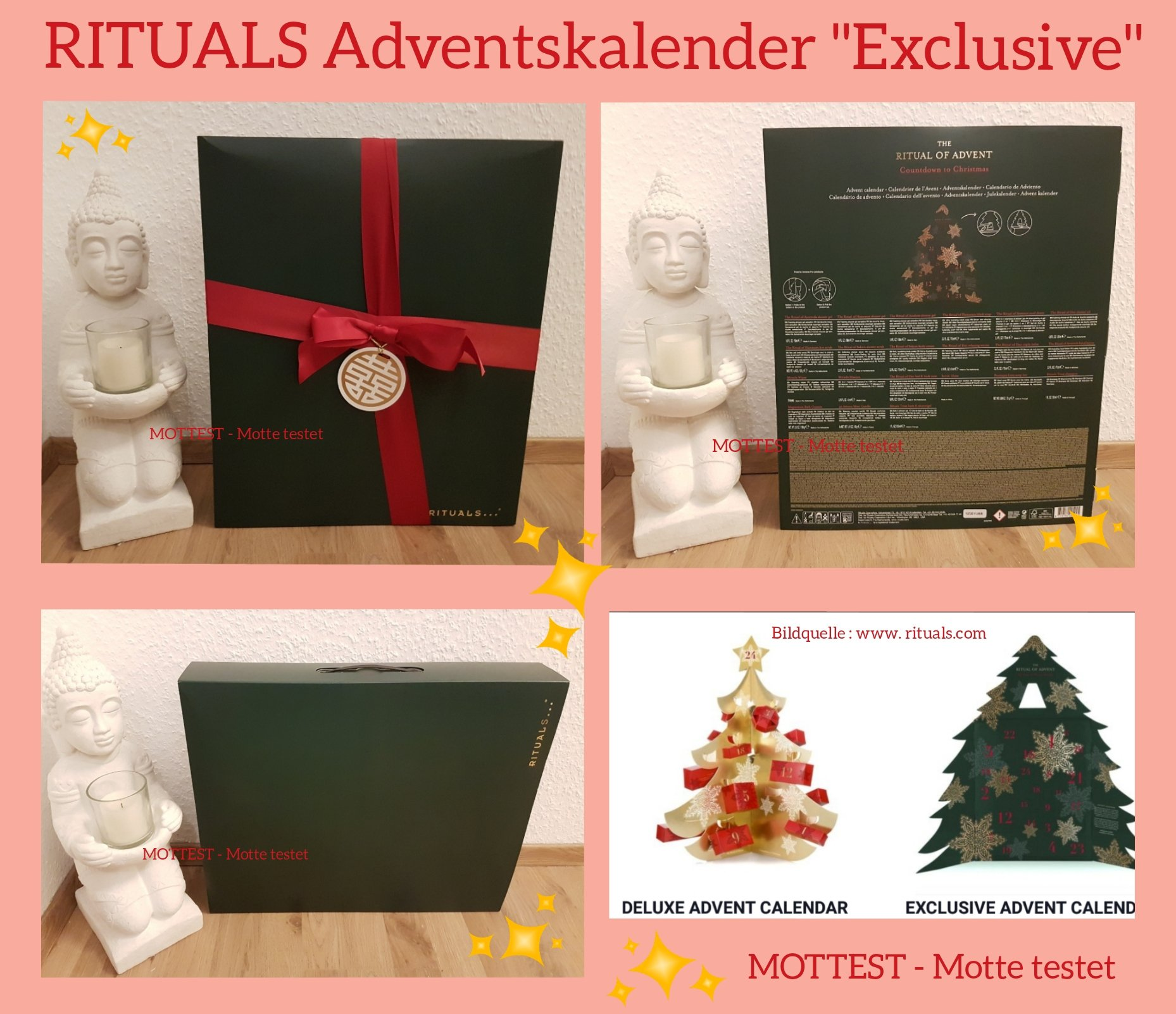 rituals exclusive adventskalender 2017 werbung. Black Bedroom Furniture Sets. Home Design Ideas